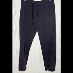 Lucy Black Active Flare-leg Pants Size Medium
